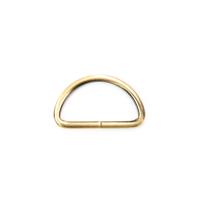 D-Ring für 40mm Band - gebürstetes Gold
