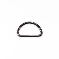 D-Ring für 40mm Band - Gunmetal