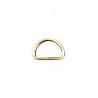 D-Ring für 30mm Band - gebürstetes Gold