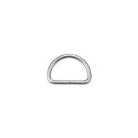 D-Ring für 30mm Band - Altsilber