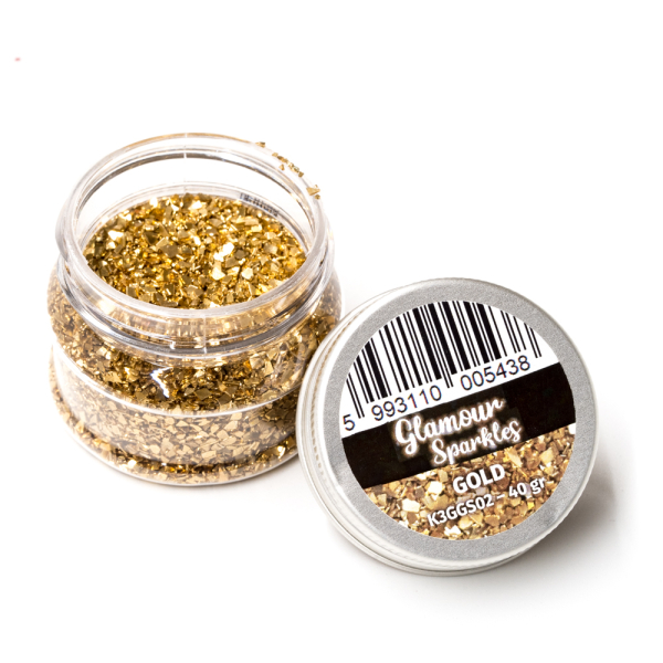 Stamperia Glamour Sparkles Gold 40g