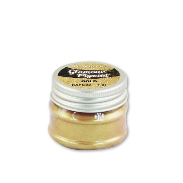 Stamperia Glamour Powder Pigment Gold 7g