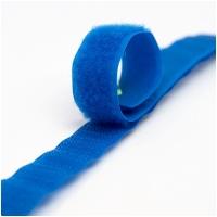 Klettverschluss Haken+Flausch 20mm Royalblau