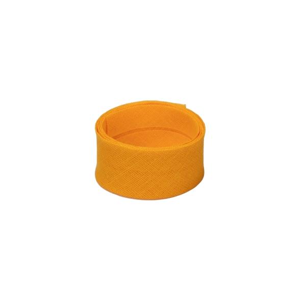 Baumwoll Schrägband Aprikose