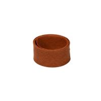 Baumwoll Schrägband Rostbraun