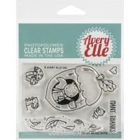 Avery Elle Clear Stamp & Die Set AW, NUTS
