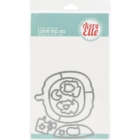 Avery Elle Clear Stamp & Die Set BOO TO YOU