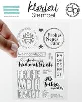 Clear Stamp Set - Weihnachtspost