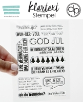Clear Stamp Set - Halleluja
