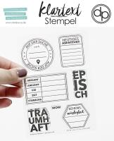 Clear Stamp Set - Auf der Suche nach...