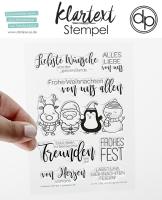 Clear Stamp Set - von der ganzen Bande