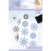Crafters Companion Clear Stamps Frosted Layers