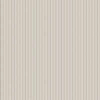 Baumwollpopeline Streifen Sand-Weiss