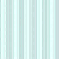 Baumwollpopeline Streifen Aqua-Weiss
