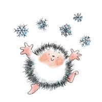 Penny Black Holzstempel Celebrating Snow