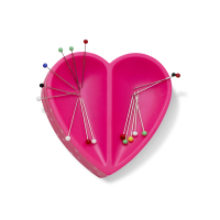Prym Love Magnetnadelkissen Herz Pink