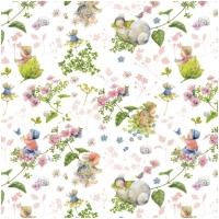 Acufactum Baumwolle Blütenbabies Rosa