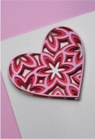 Birch Press Design Layer Craft Die Stanze - CAPRICE HEART