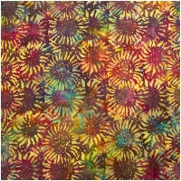 Baumwolle Batik Be Colourful by Jacqueline de Jonge