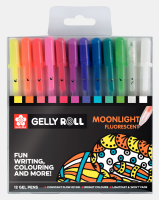 Sakura Gelly Roll Set Moonlight Fluorescent