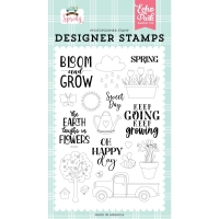 Echo Park Clear Stamp Set WELCOME SPRING