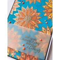 Julie Hickey Clear Stamp Set MINI SUNFLOWER