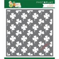 Photoplay Paper Schablone - Lucky Clover 15x15cm