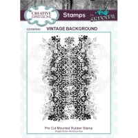 Creative Expressions Cling Stempel VINTAGE BACKGROUND