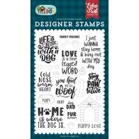 Echo Park Clear Stamp Set FURRY FRIENDS