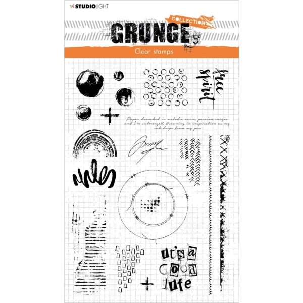 Studio Light Clear Stamp Grunge Collection NR. 503