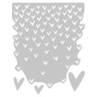 Sizzix Thinlits Stanze Falling Hearts
