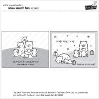 Lawn Fawn Clear Stamp & Die Set - Snow Much Fun