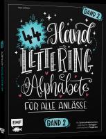 Buch - 44 Handlettering Alphabete für alle Anlässe