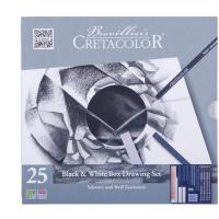 Cretacolor Black & White Zeichnungs Set