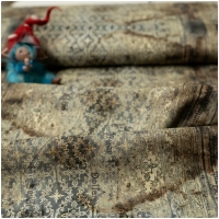Baumwolle Tim Holtz Abandoned Stained Damask