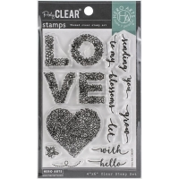 Hero Arts Clear Stamp - Floral Love