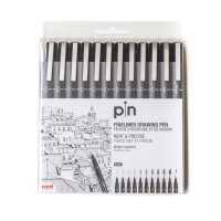Uniball PIN Fineliner 12er Set