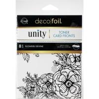 Deco Foil Toner Cards - Flowers Devine