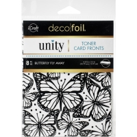 Deco Foil Toner Cards - Butterfly Fly Away