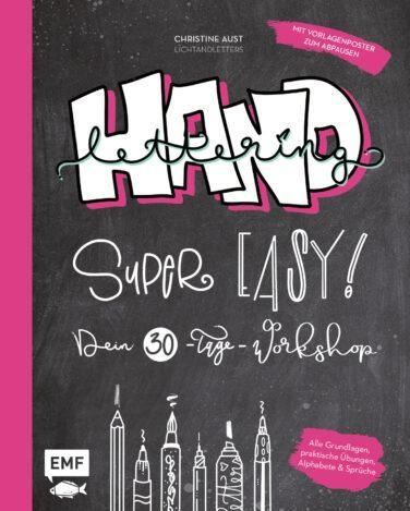Buch - Handlettering Super Easy! Dein 30-Tage-Workshop