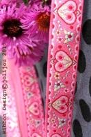 Webband FlowerLove Pink