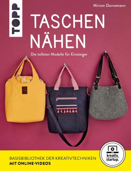 Buch - Taschen nähen - die tollsten Modelle für Einsteiger