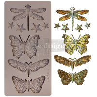 Re-Design Décor Mould - Insecta & Stars...