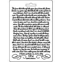 Stamperia Texture Impressions - Manuscript A5