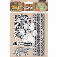 Stamperia Cling Stamp - Amazonia Tribals
