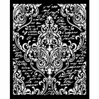 Stamperia Schablone - Décoration with Writings...