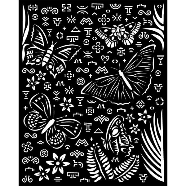 Stamperia Schablone - Amazonia Butterflies 20x25cm