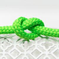 Polyester Rundkordel 7mm Neongrün