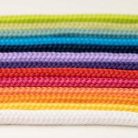 Polyester Rundkordel 7mm Neonpink