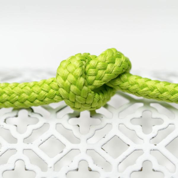 Polyester Rundkordel 7mm Lime
